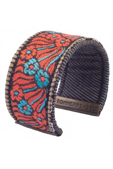 Bracelet ADDIS Gris/Or